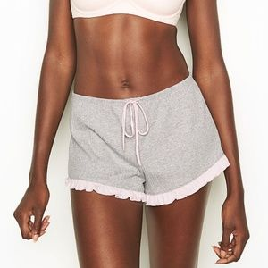 LAST ONE Victoria's Secret Ruffle Sleep Shorts PJs